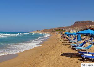 beach near heraklion