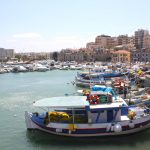 heraklion port views