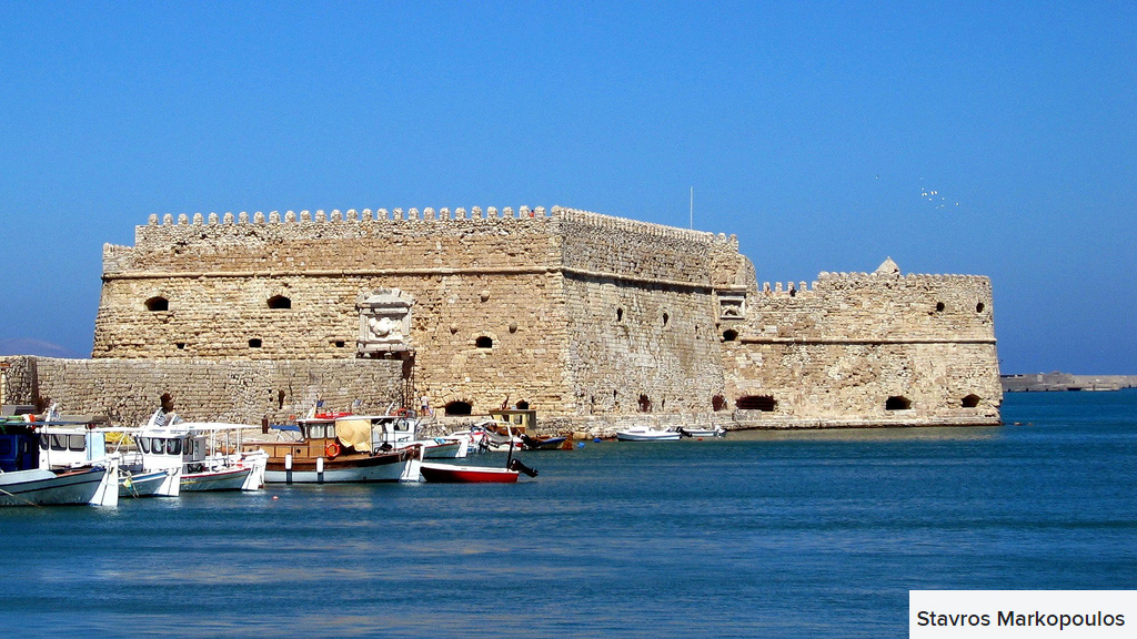 koules fortress heraklion