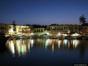 he Venetian Port of Rethymno