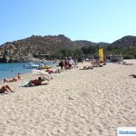 always room on vai beach crete