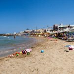 beach in stalis