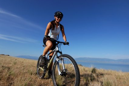 biking in crete