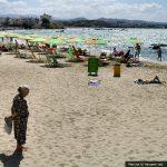 chania beach