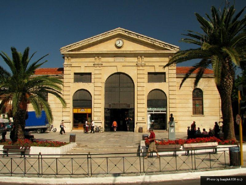 the cross shaped agora market