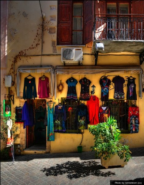 picturesque streets of chania
