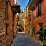 chania back streets