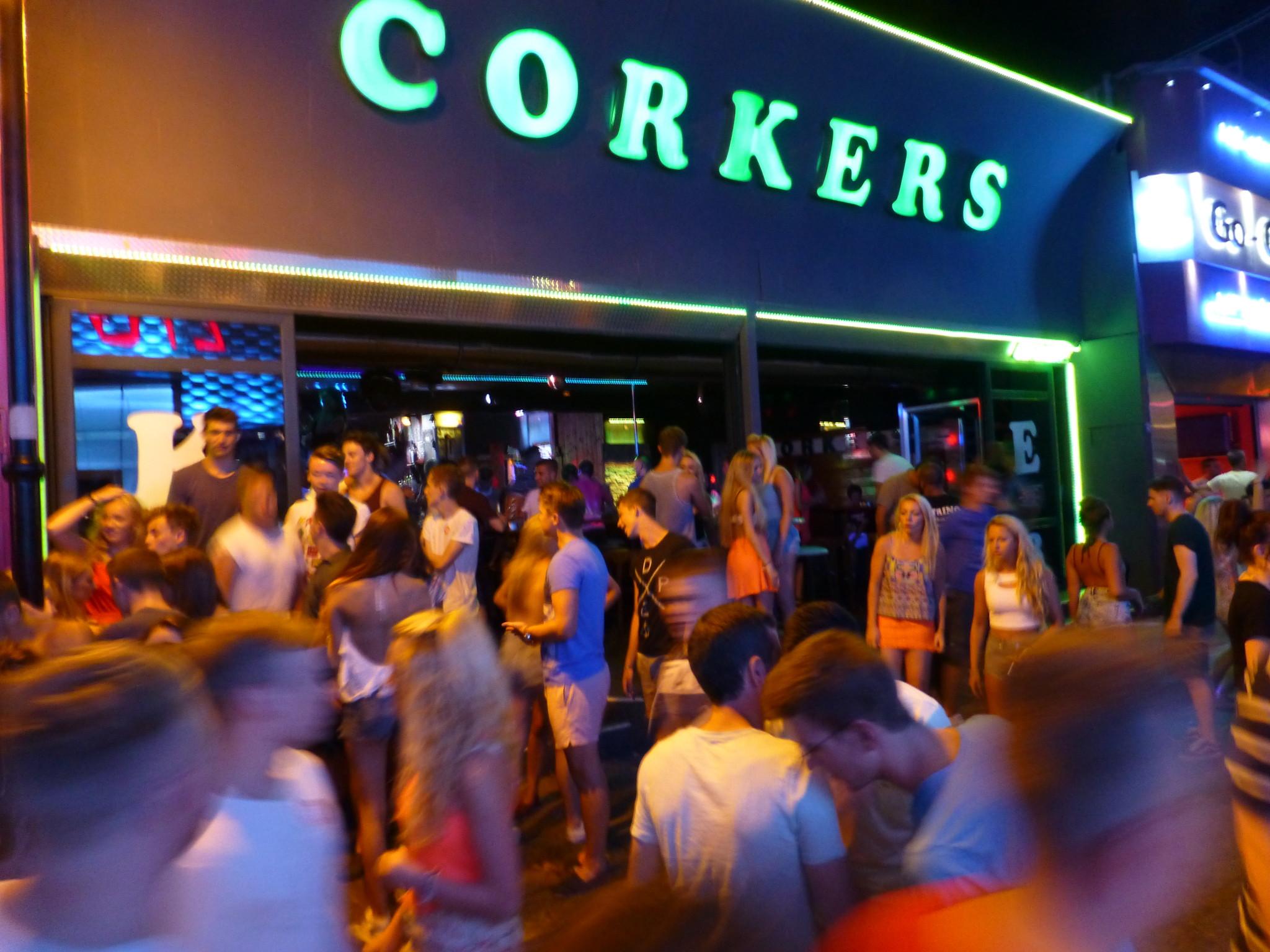 clubbing in crete - corkers