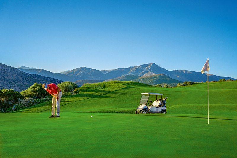 crete golfing