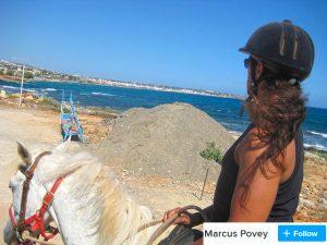 crete horse riding