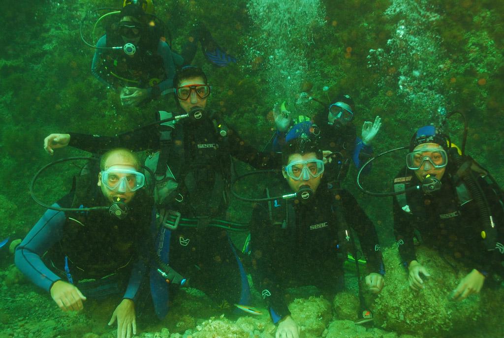 crete scuba diving