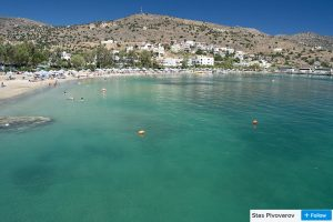 crystal clear elounda waters