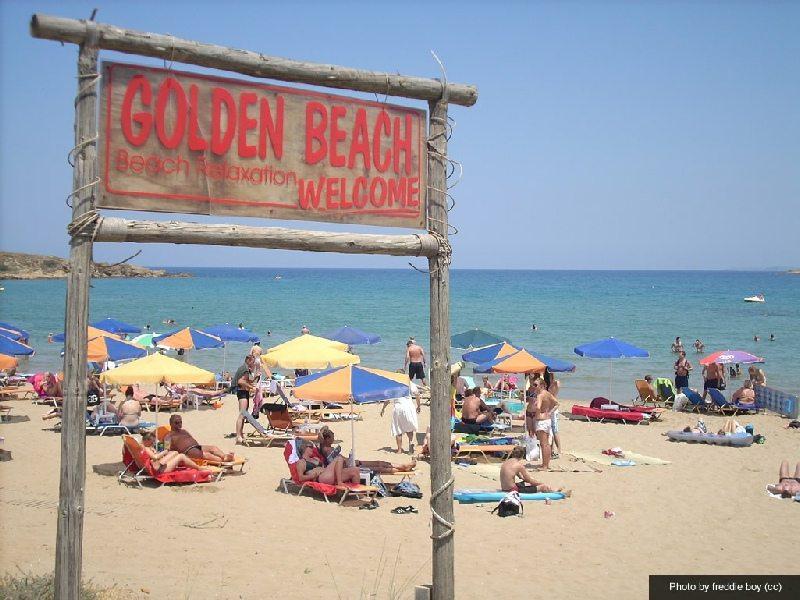 Kreta Rethymnon Hotel Golden Beach