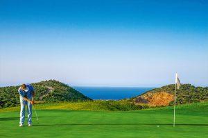 golfing in crete