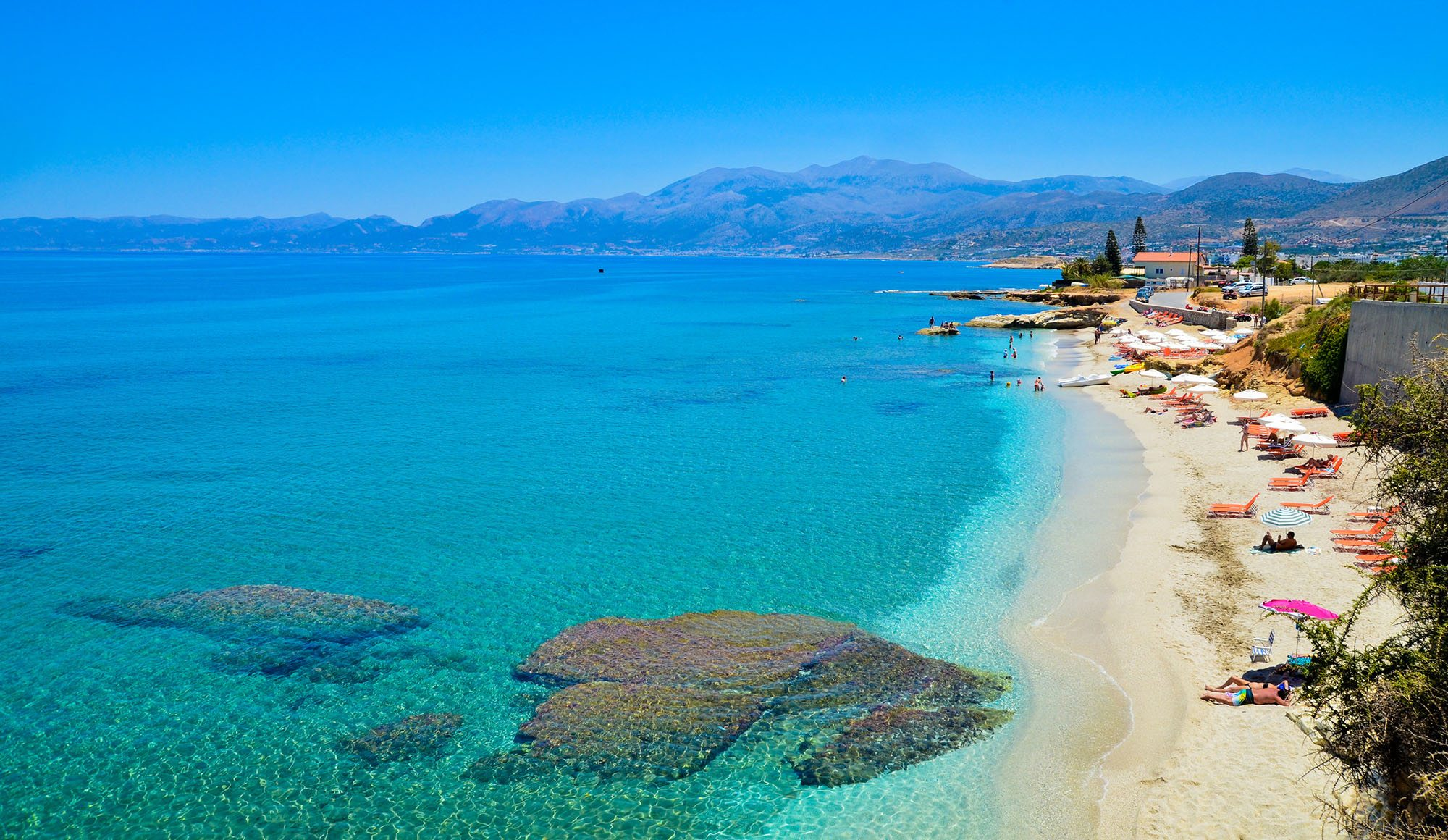 Holiday Travel Guide To The Resort Of Gournes In Crete