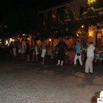 greek dancing in stalis