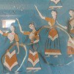 knossos palace fresco