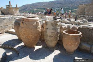 knossos pottery