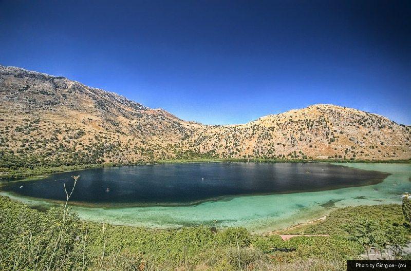 Lake Kournas overview