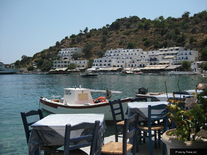cafe in Loutro