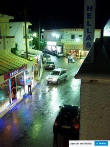 palekastro town at night