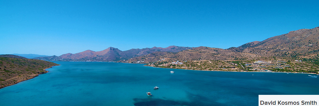 panorama from spinalonga