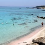 pink sands of kissamos