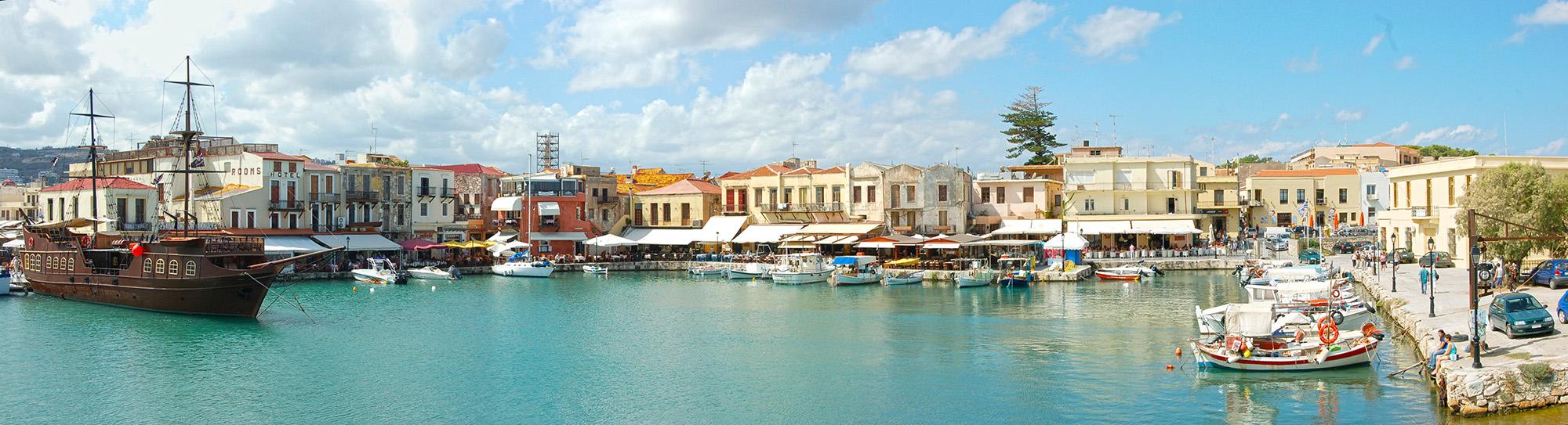 Rethymnon, Crete. A cosmopolitan city with plenty for everyone