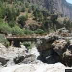 Bridge over Samaria Gorge