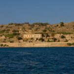 spinalonga island panorama