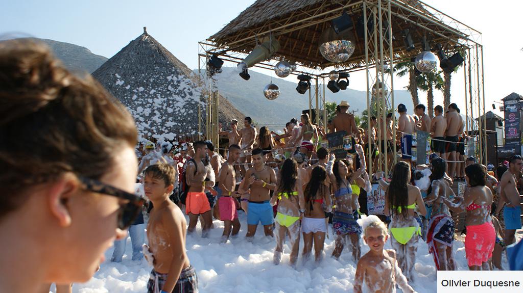 starbeach foam party