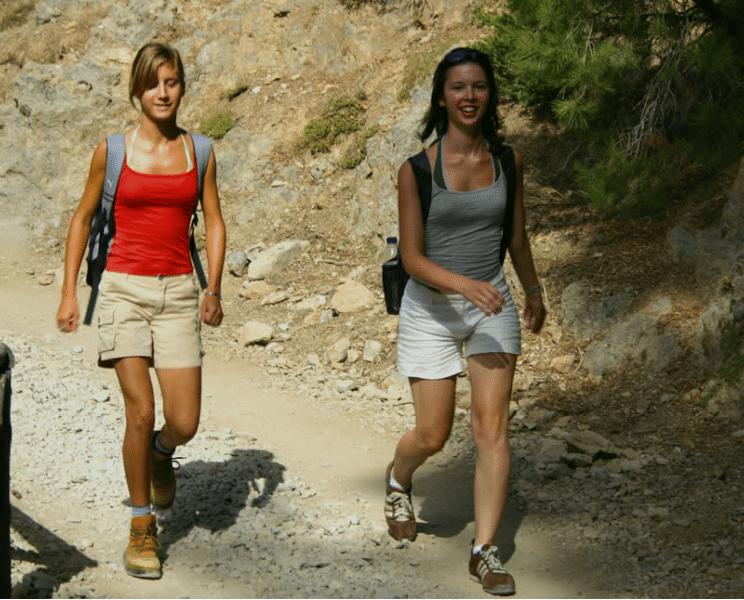 walk in crete