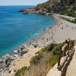 crete beaches - preveli beach