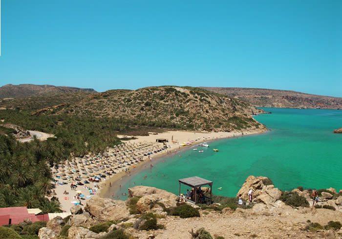 vai beach crete - featured
